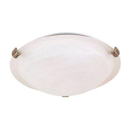 Nuvo Lighting 60/270 Ceiling Fixtures Indoor Lighting Flush Mount ;Brushed Nickel, Silver