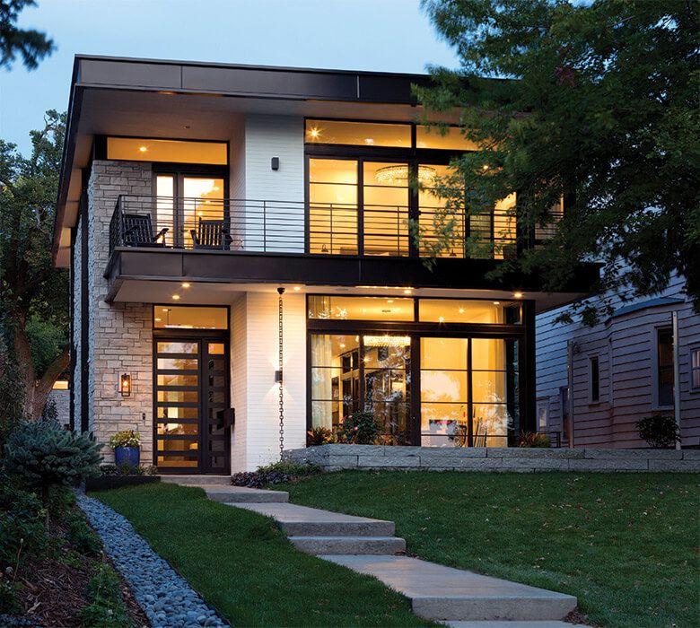 Calhoun Parkway Contemporary Project Minneapolis Minnesota Kolbe Windows Doors Modern House Design Contemporary House Contemporary Windows
