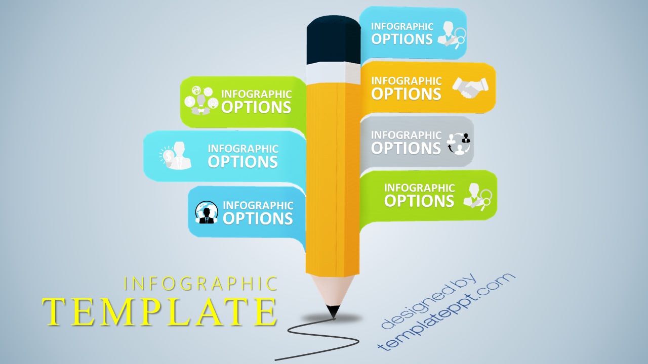 3D Infographic PPT: 3D Infographic PowerPoint for Education