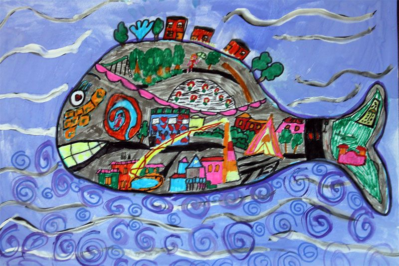 Картинки чудо рыба