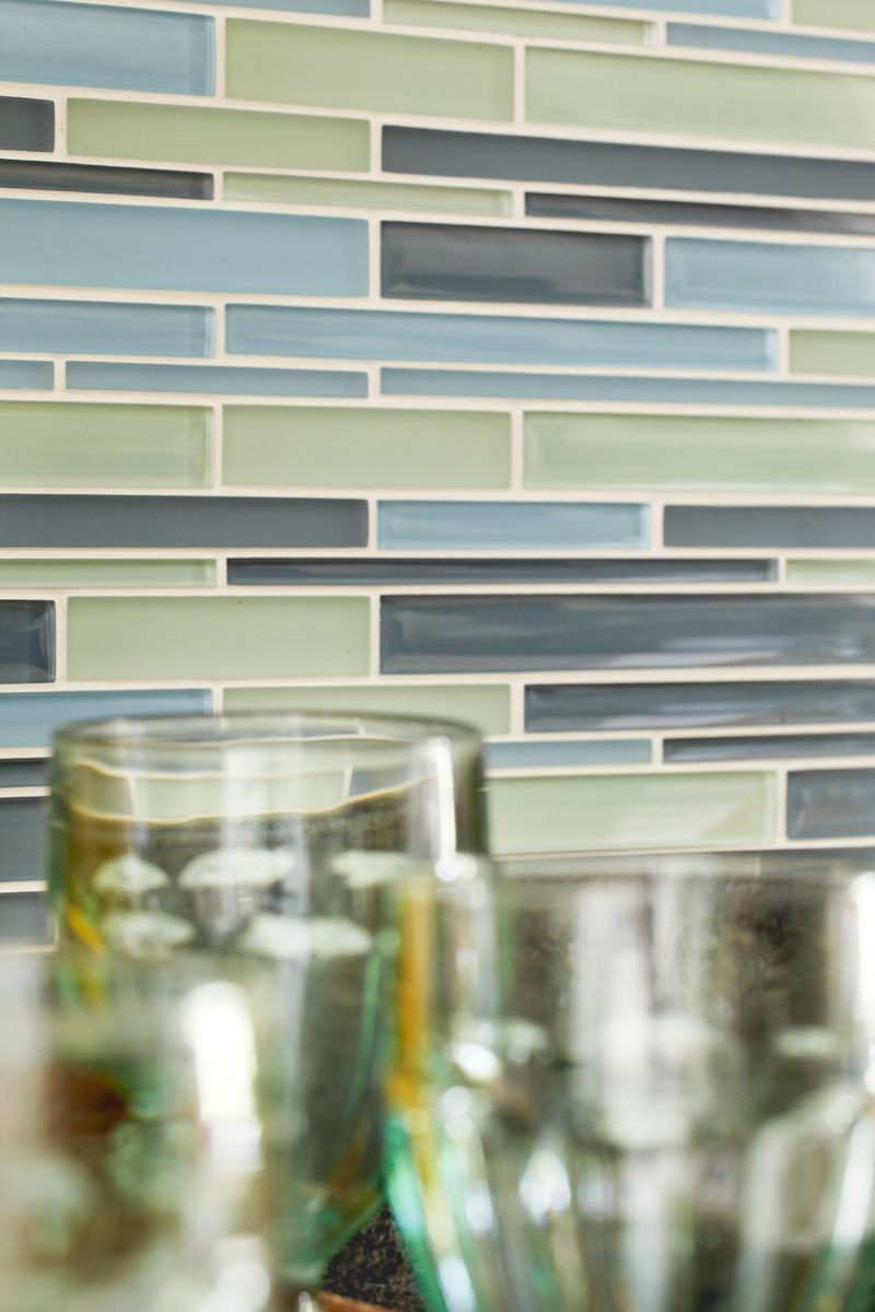 Glass Tile Back Splash Kara Cox Interiors Photographed By Stacey Van Berkel