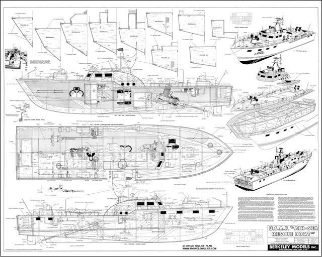 model boat schematics