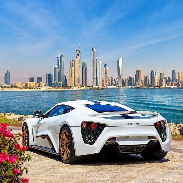 The Ultra Rare Zenvo St1 In The Beautiful City Of Dubai