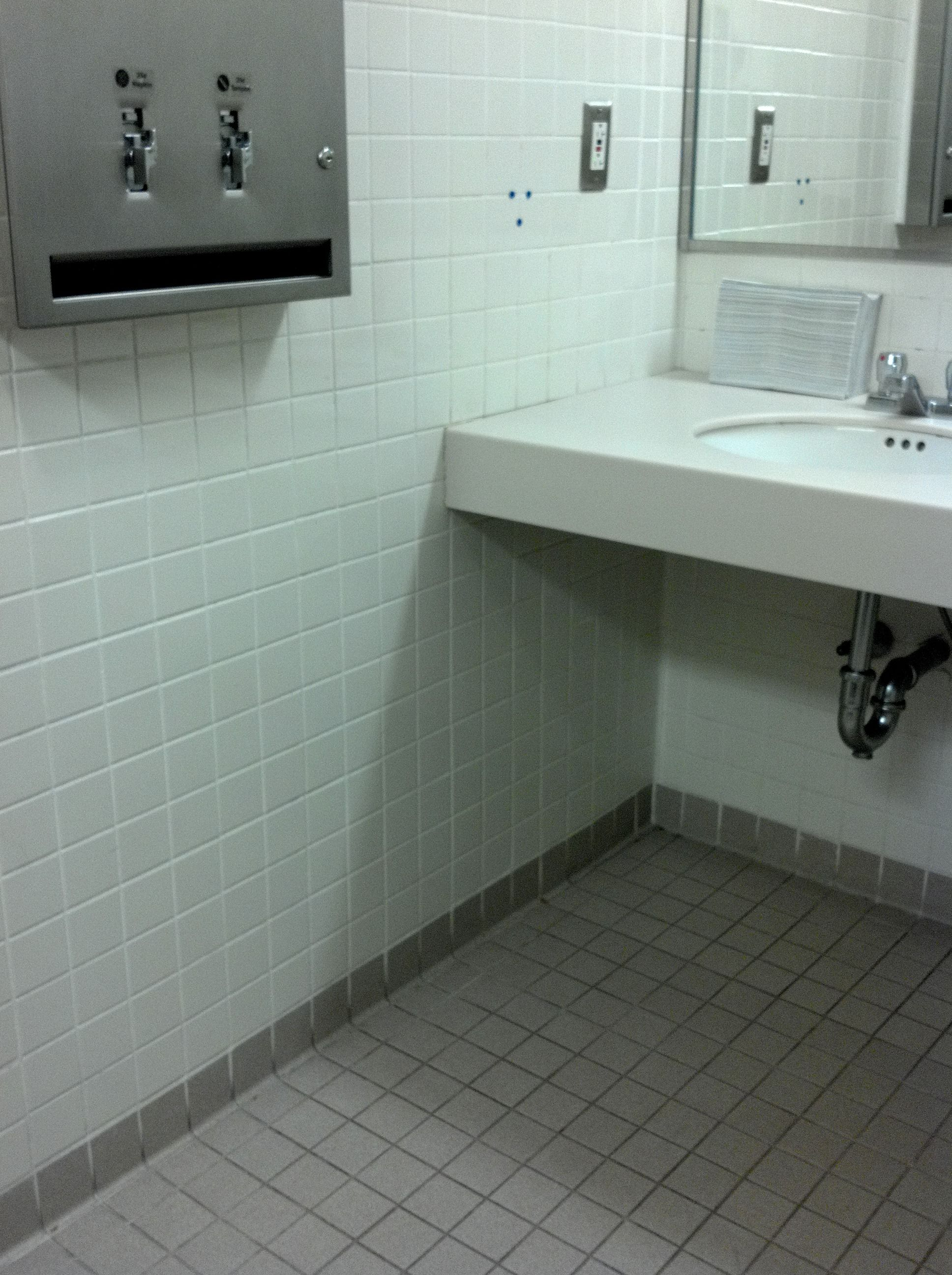 Pic On  ADA Compliance Design Architecture Great example of roll under space ease