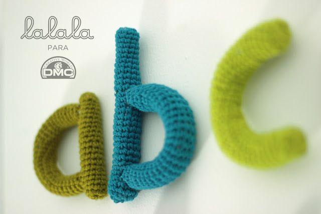 O Blog da DMC: O Abecedário em Croché de Lalala Toys