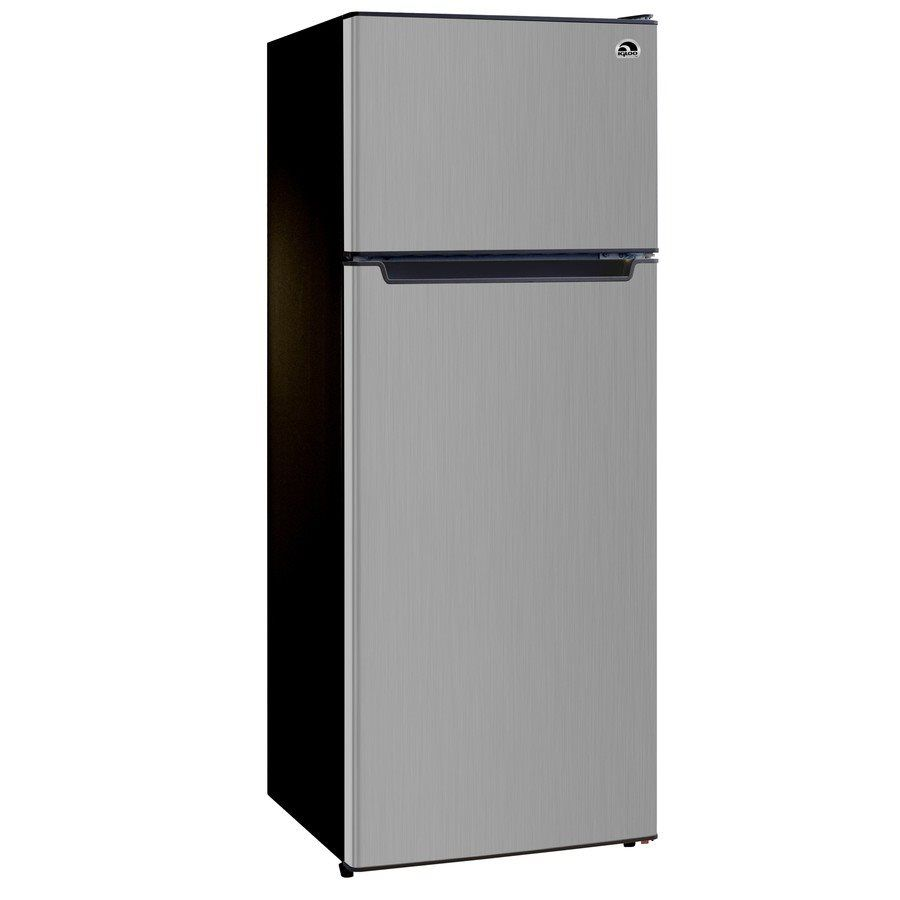 Shop Igloo Fr725 7 24 Cu Ft Compact Refrigerator Platinum At Lowe S Canada Find Our Selection Of Mini Fridges At The Lowest Pr Compact Refrigerator