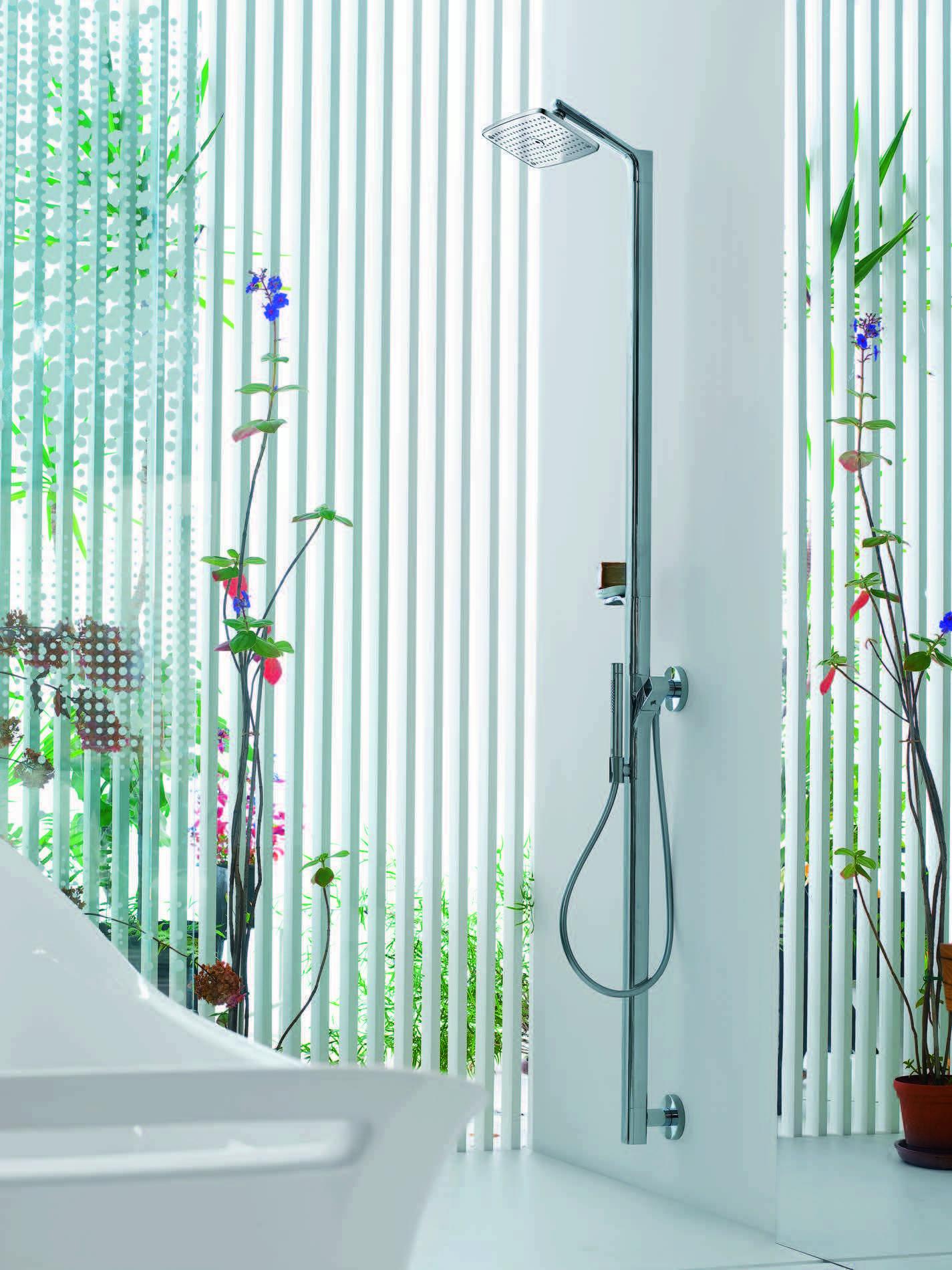 Axor Urquiola Showerpipe @HansgroheUSA #BathroomDreams Talk about ...