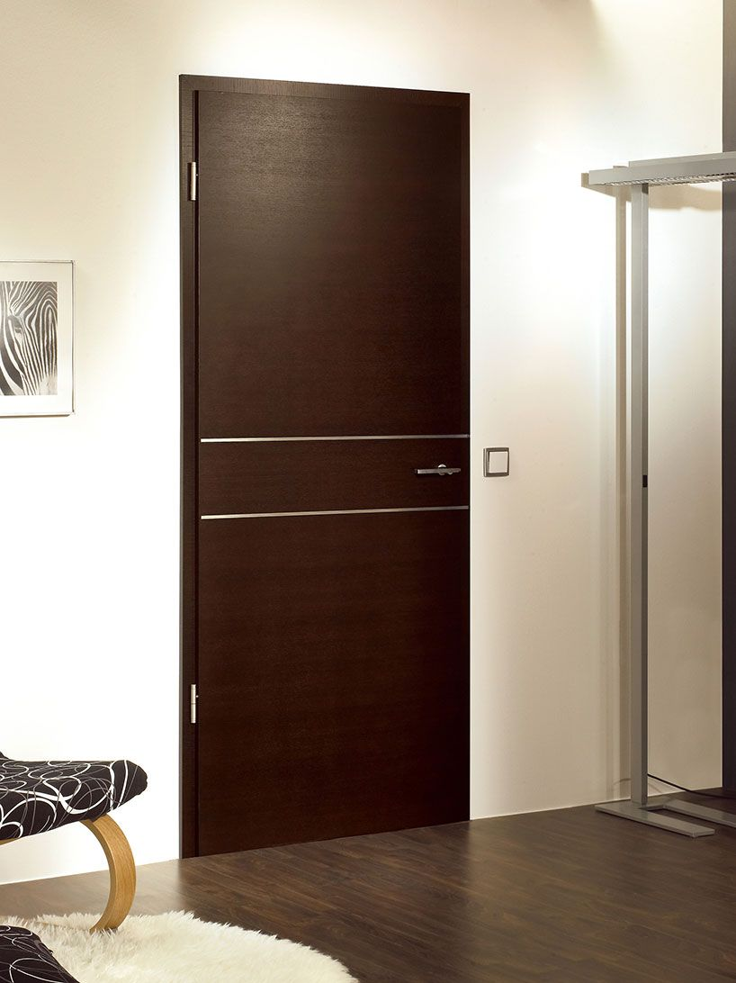 Solid Oak Doors L Dark Chocolate Veneer Finish Internal