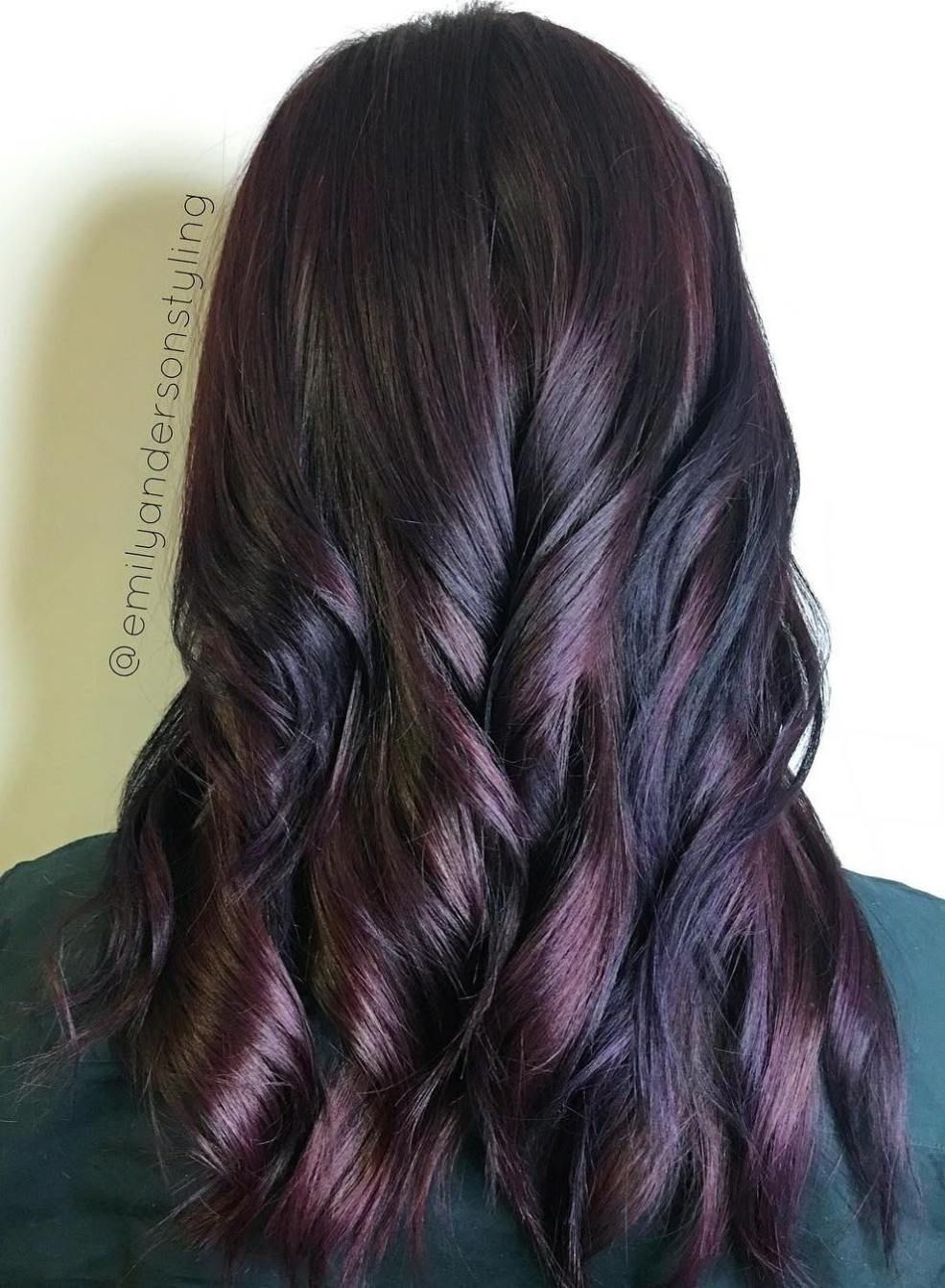 40 Hair Color Ideas That Are Perfectly On Point Mahogany Hair