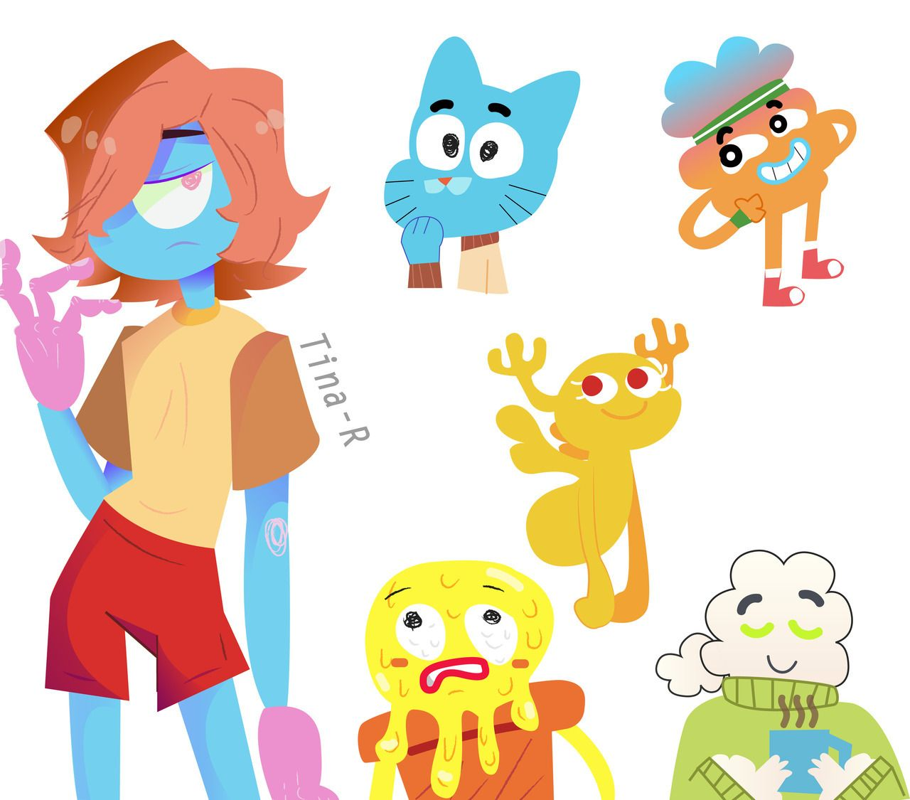 Pin By Dumb Blue Husky On Screenshots The Amazing World Of Gumball World Of Gumball Gumball