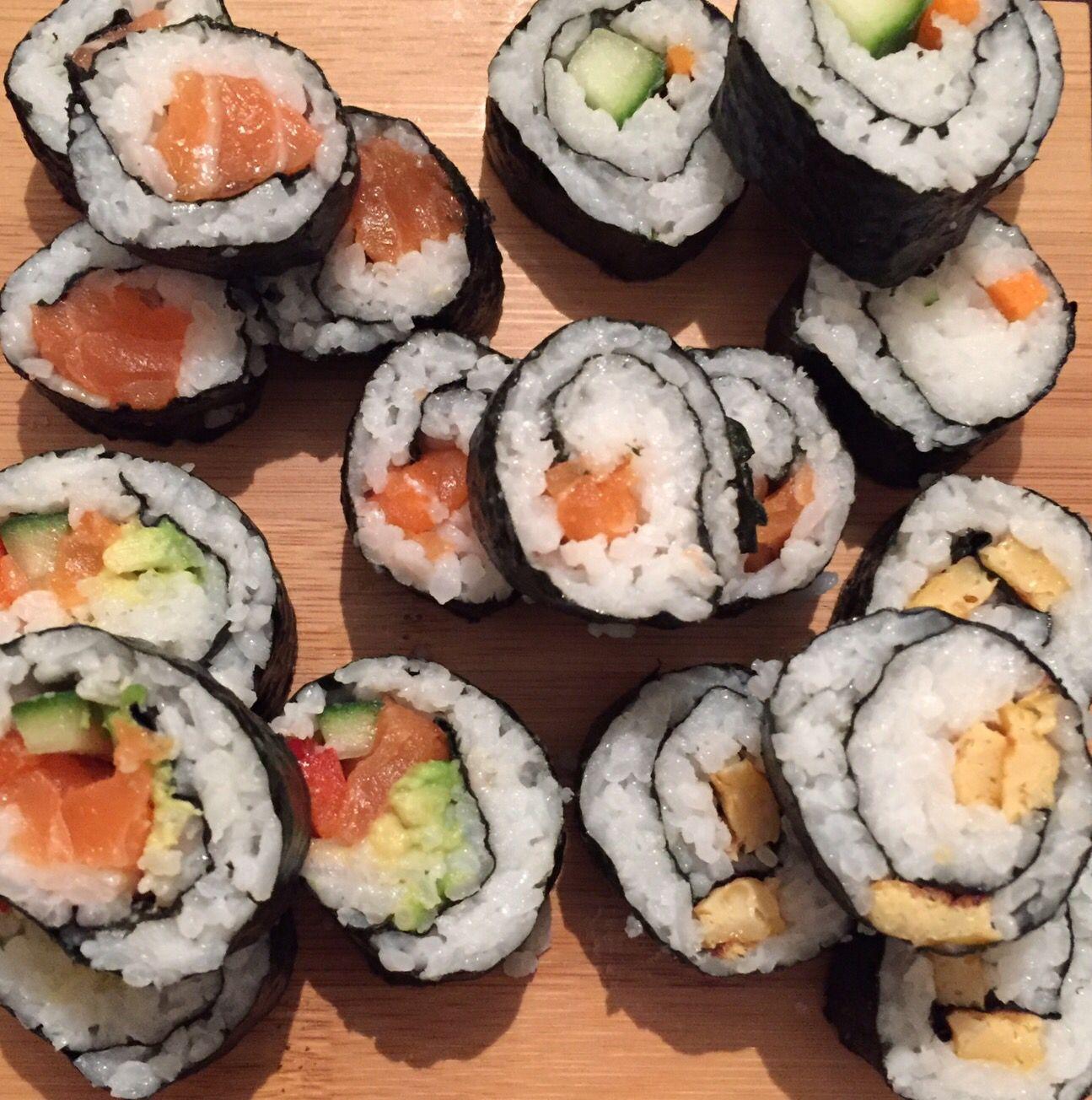 Sushi, gemaakt 29-1-16