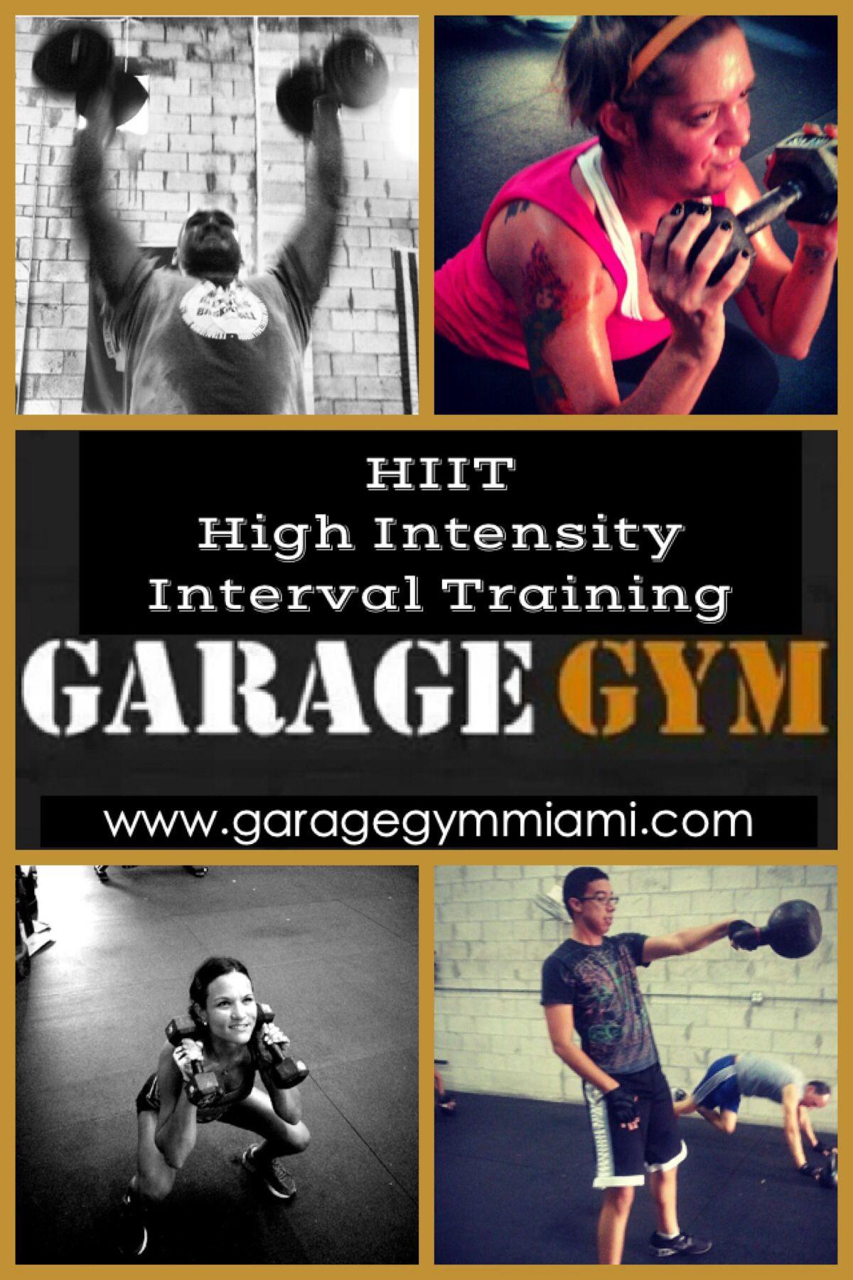 Garage gym miami high intensity interval training