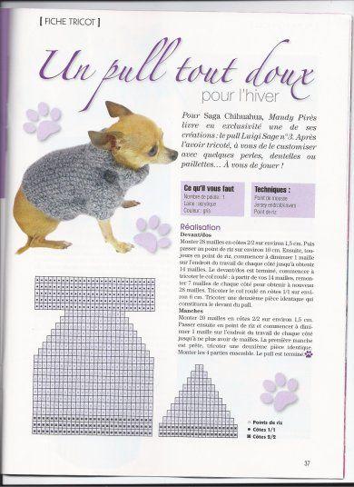 tricoter un manteau pour chien v tements et accessoires pinterest manteau pour chien. Black Bedroom Furniture Sets. Home Design Ideas