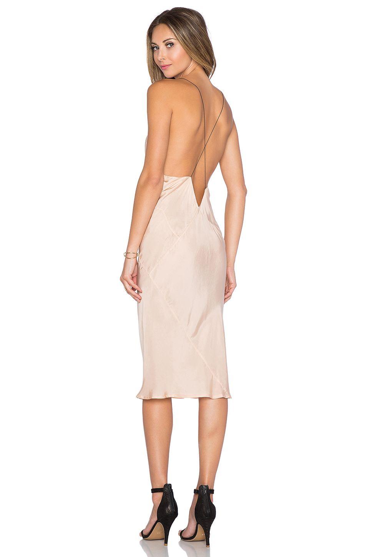 TITANIA INGLIS x REVOLVE Plunge Slip dress in Blush  c1d406e0d