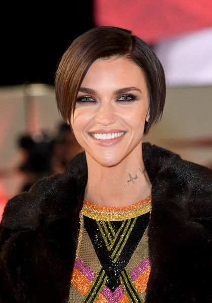 Ruby Rose attends the European Premiere of Paramount Pictures' 'xXx: Return of Xander Cage.'