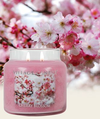 Cherry Blossom Scented Candles | Village Candle