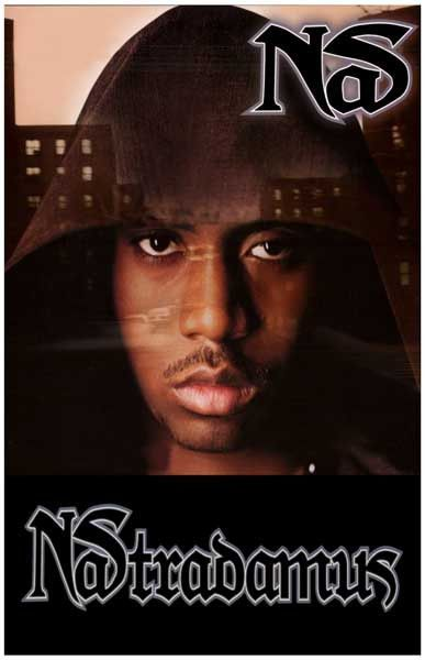An awesome poster of Hip Hop street prophet Nas from his