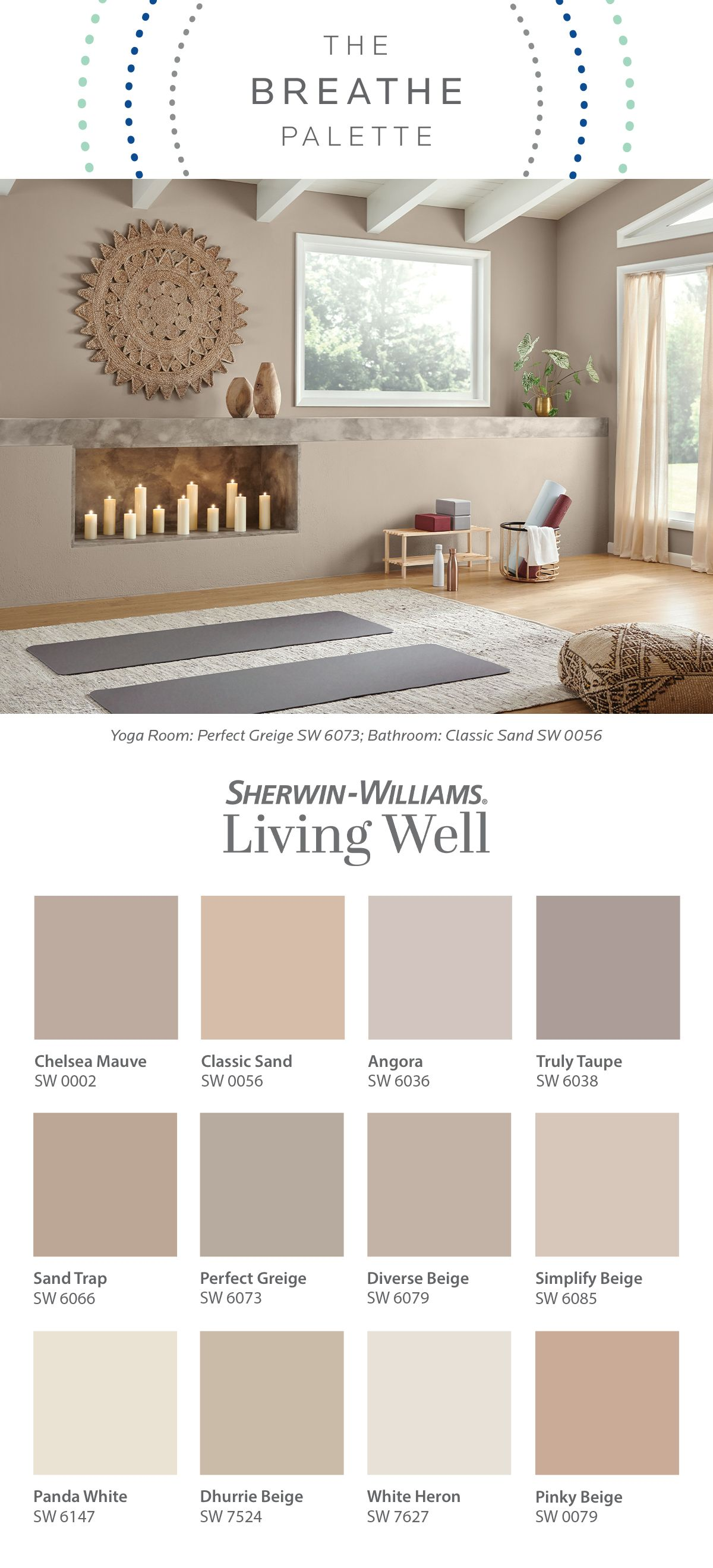 The Living Well Collection Breathe Palette In 2021 Paint Colors For Home Home Remodeling Warm Paint Colors Good neutral colors for living room