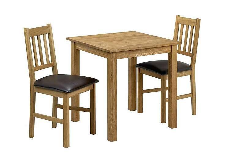 Furniture Village Larwood Oak Square Dining Table The Timeless