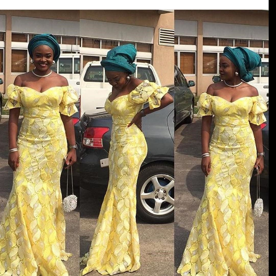 There are a variety of ways to acquire ourselves beautified past an Ankara fabric, Even if you are thinking of what to make and slay next an Nigerian Yoruba dress styles. Asoebi style|aso ebi style|Nigerian Yoruba dress styles|latest asoebi styles} for weekends arrive in many patterns and designs. #nigeriandressstyles There are a variety of ways to acquire ourselves beautified past an Ankara fabric, Even if you are thinking of what to make and slay next an Nigerian Yoruba dress styles. Asoebi st #nigeriandressstyles