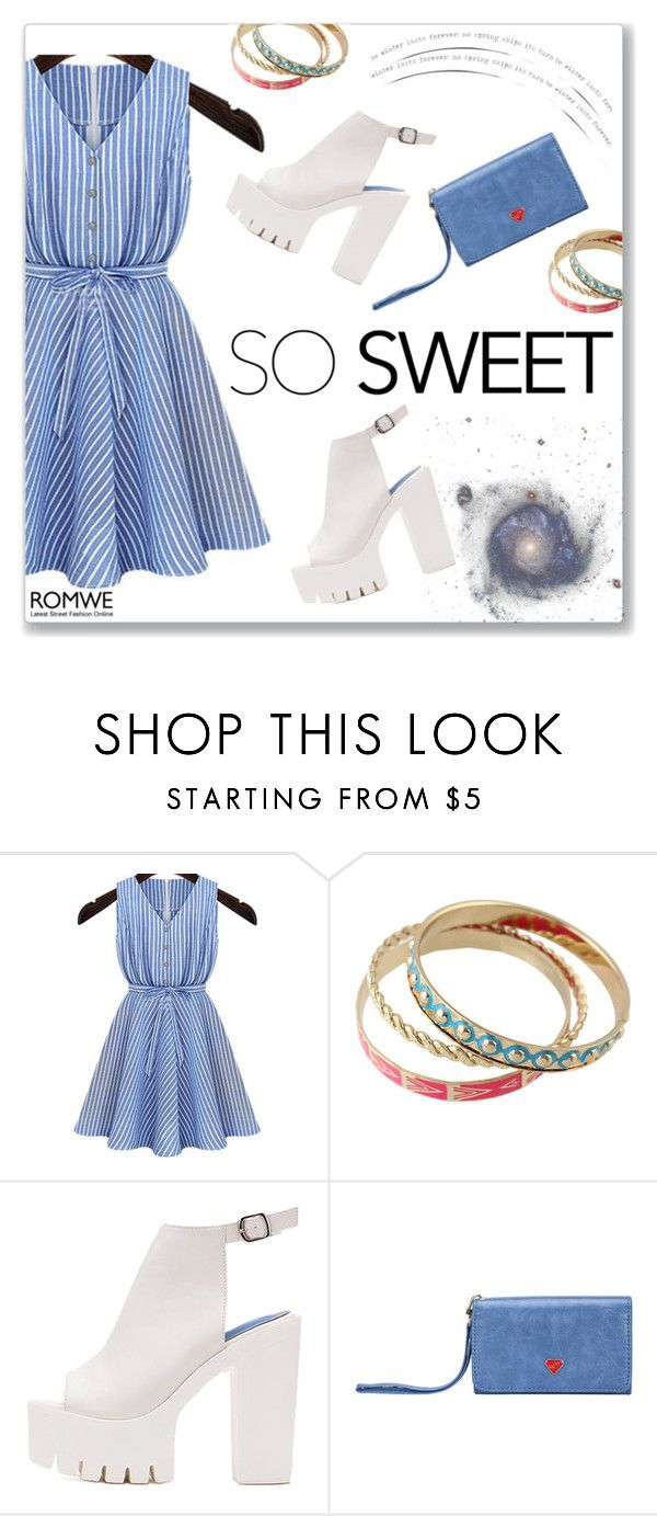 """""""ROMWE 5"""" by abecic ❤ liked on Polyvore featuring romwe"""