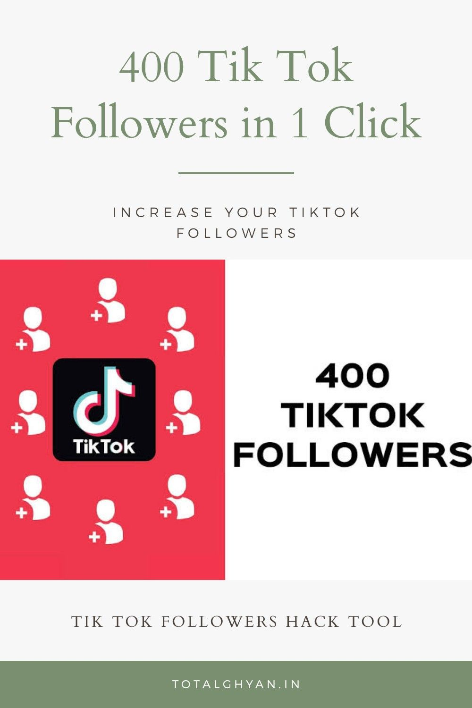 400 Tik Tok Followers In Just 1 Click Video Editing Apps 10k Instagram Followers Tik Tok
