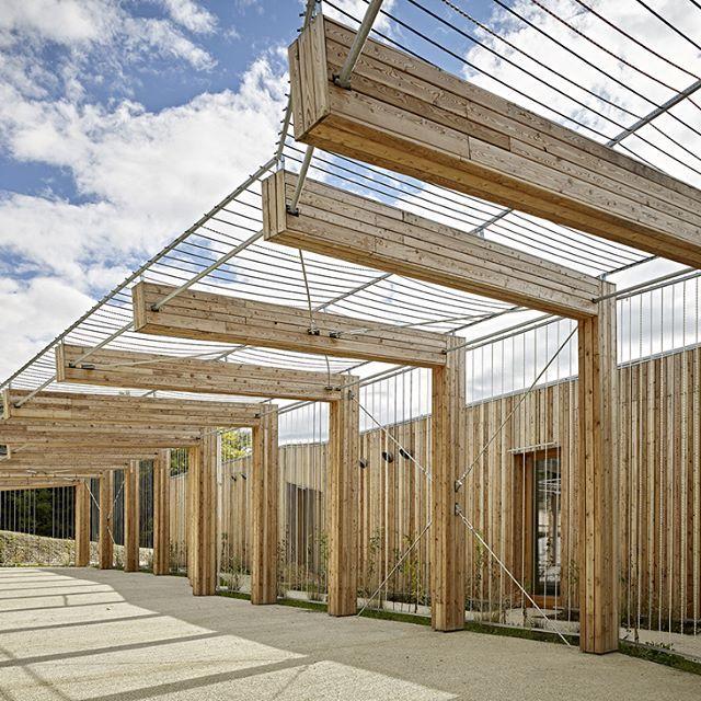 Bfa Multi Aged Community Centre Architecture Mountains