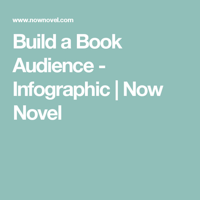 Build a Book Audience - Infographic | Now Novel
