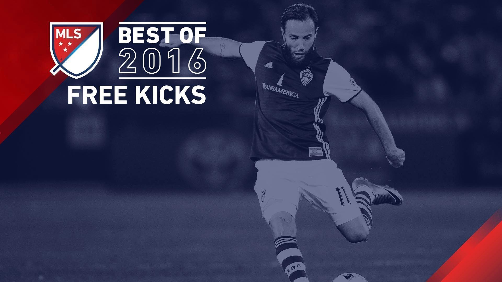 Video via MLS: Pick that out! Top 5 free kicks of 2016