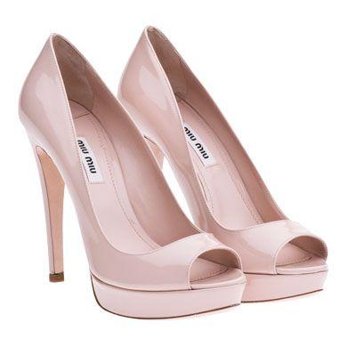 watch 085b2 aef25 Miu Miu pantone sweet pink platform peep toe heels shoes ...