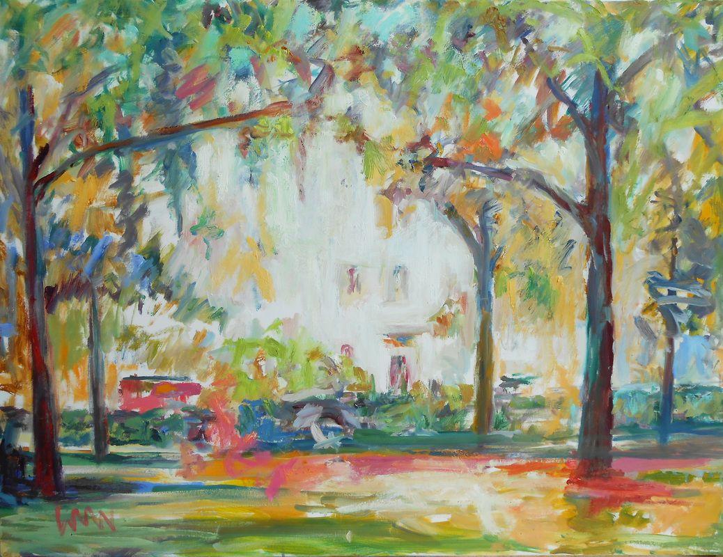 Savannah Square Wiiliam Weyman Painting Art Shop Design
