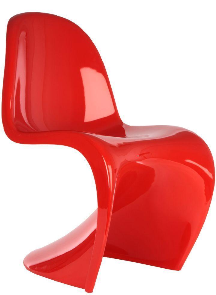 vernon panton chair plastic stacking chairs la sedia cult in plastica di verner