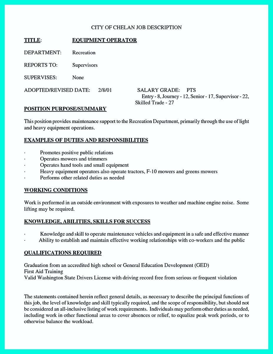 Cool Writing Your Qualifications In CNC Machinist Resume? A Must!,