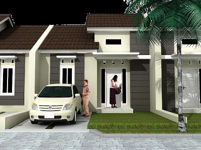 75+ desain rumah type 36 minimalis 2 lantai & 1 lantai