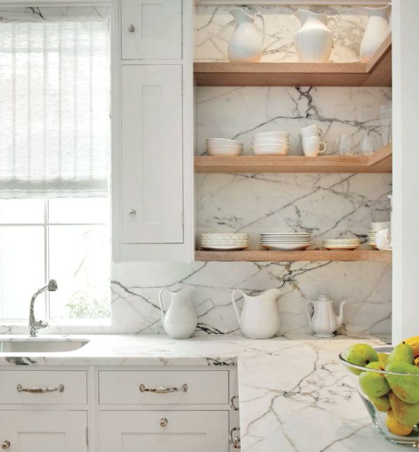 white marble kitchen crushes