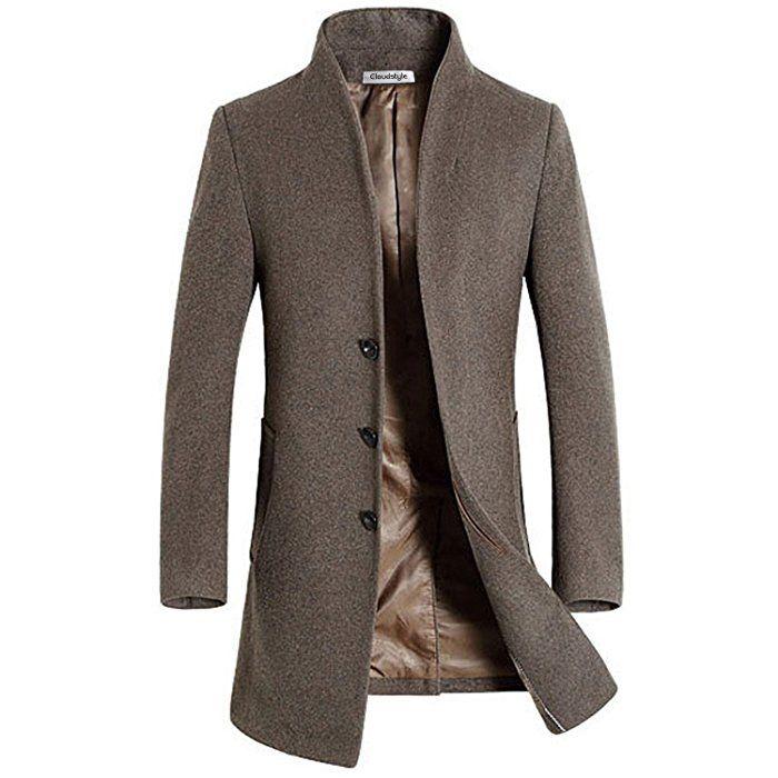 slim fit herren stilvoller wollmantel winter business men 39 s fashion pinterest m nnermode. Black Bedroom Furniture Sets. Home Design Ideas