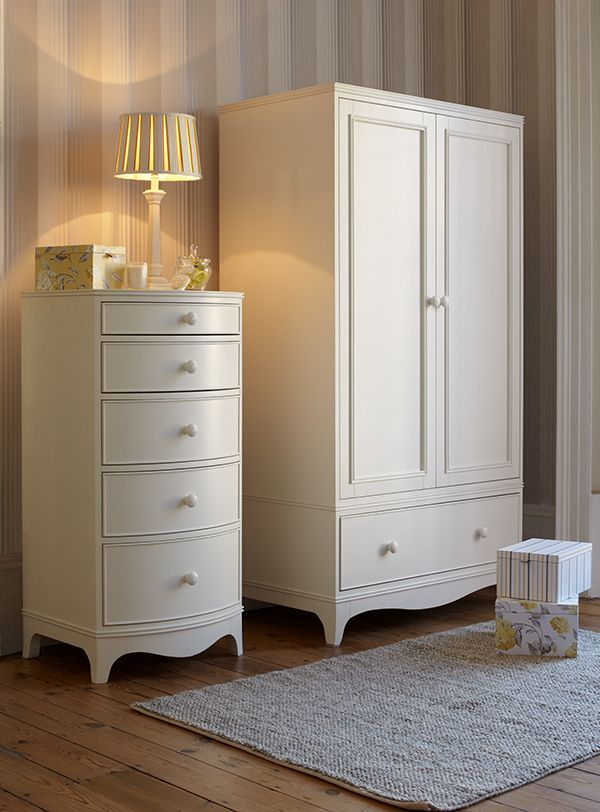 Broughton Ivory Bedroom Collection. From The Laura Ashley Australia  Furniture Collection.