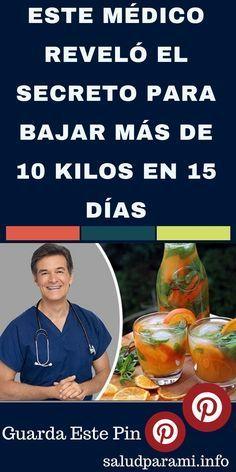 ESTE MÉDICO REVELÓ EL SECRETO PARA BAJAR MÁS DE 10 KILOS