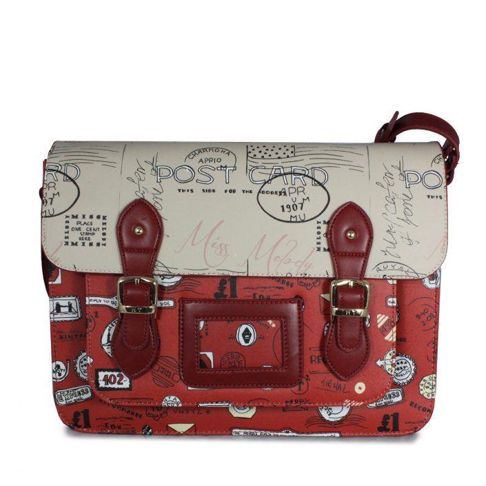 Tan Polka Dot Satchel – School and College Bags – Study Bag – Ladies Bags  UK in 2019   College bags, messenger bags, owl bags, cross body bags,  school bags, ... 5d6814eb19
