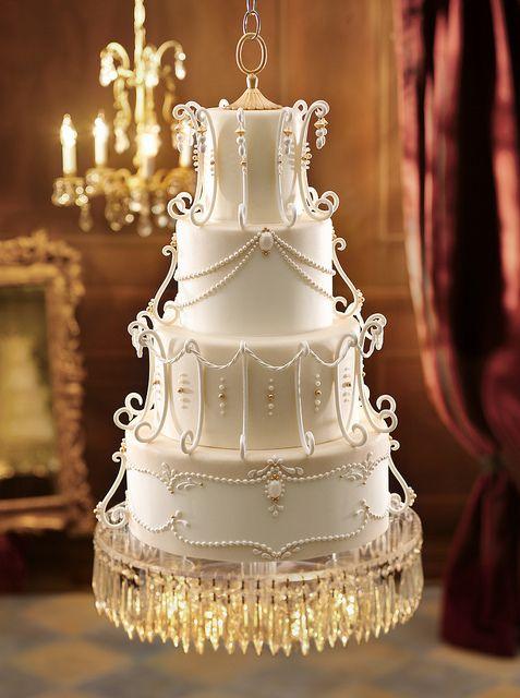 Something Old Royal Wedding Cake Chandelier Cake Extravagant Wedding Cakes