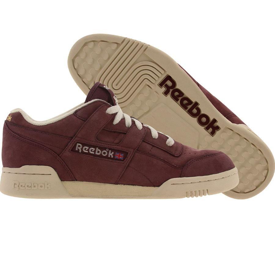 8c6cddeb70d954 Reebok Workout Plus Vintage shoes in burgundy
