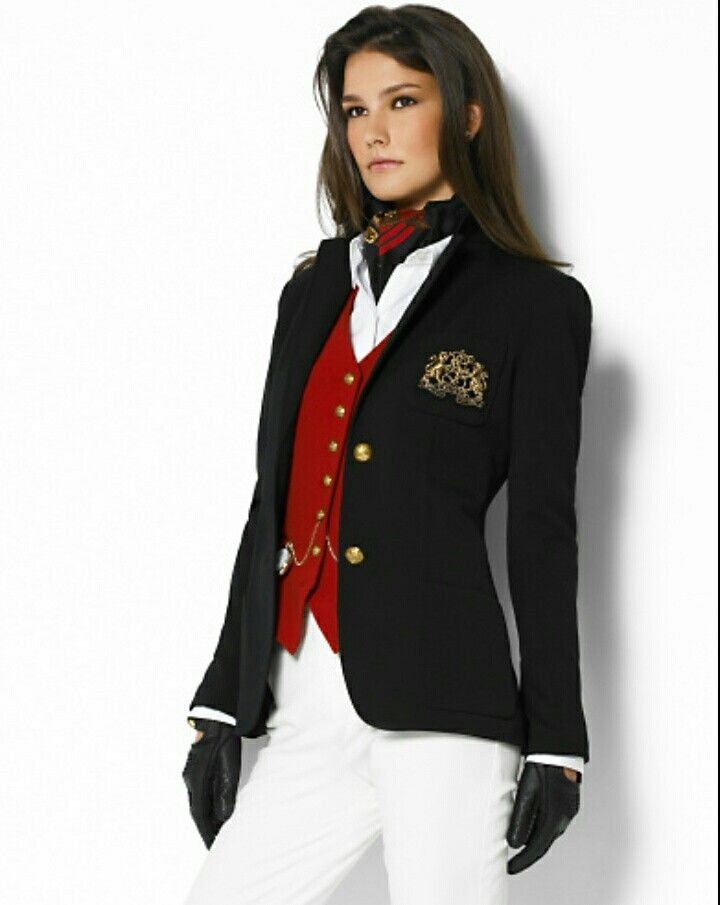 Loving this look with the Ralph Lauren blazer   blazers   Pinterest ... 778a619a5b1