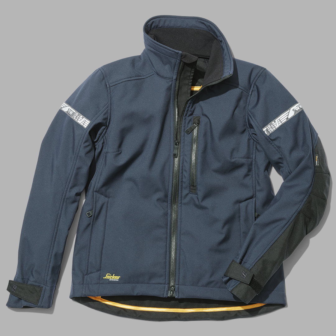 25e3a67a 1207 AllroundWork, Women's Softshell Jacket. Windproof and water-repellent,  this versatile jacket is a great choice for everyday work all year round.