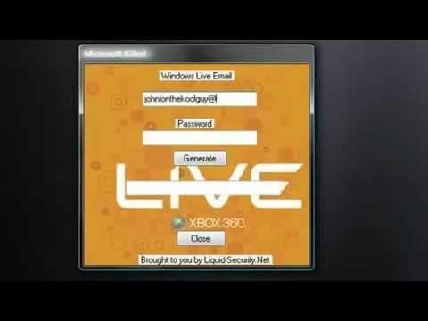 xbox live gold keygen 2014