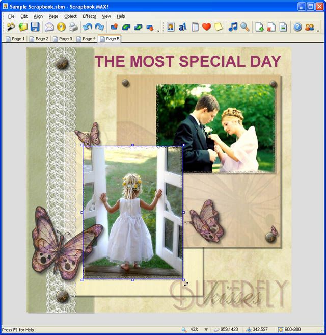 Scrapbook MAX! 2.0: Scrapbook MAX 2.0 digital scrapbooking software is fun and easy to use.