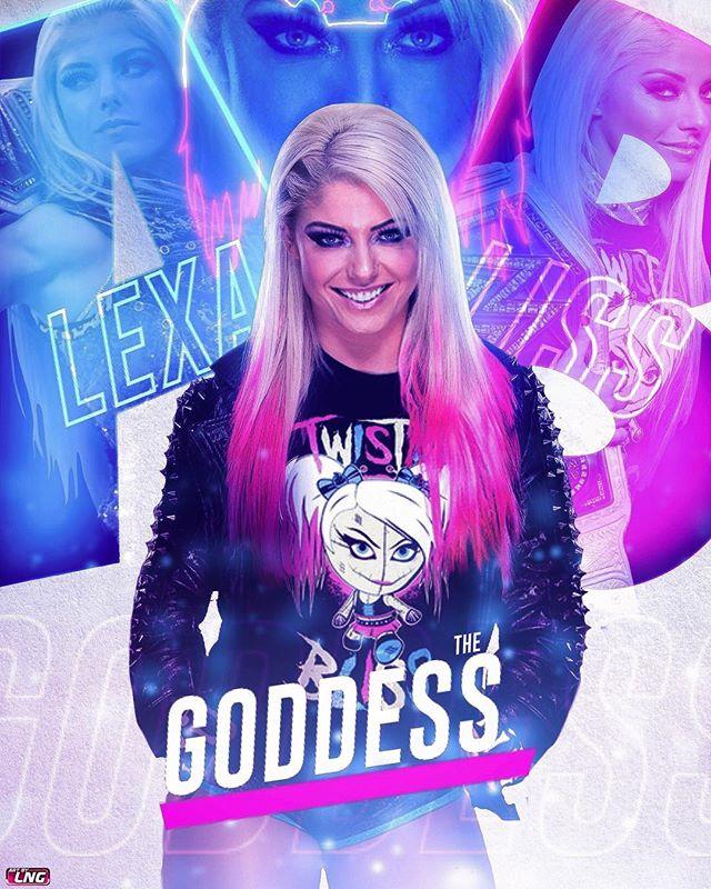 L N G Artbylng Instagram Photos And Videos Wwe Womens Wwe Female Wrestlers Alexa