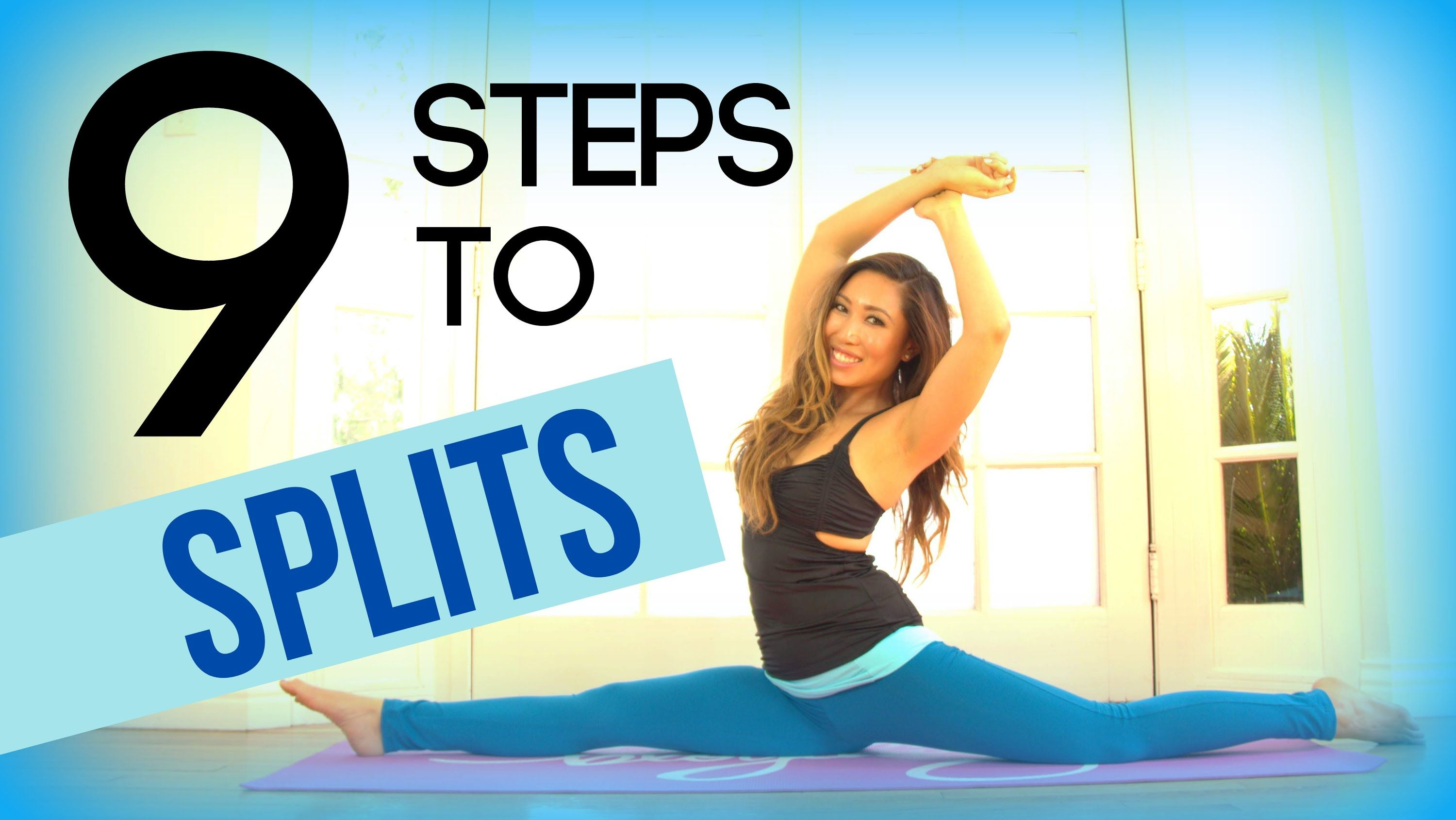 how to learn to do the splits in a month