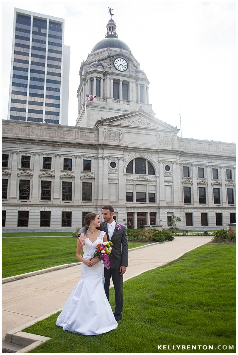 Allen County Courthouse Courtney Matt S Wedding Fort Wayne Photography By