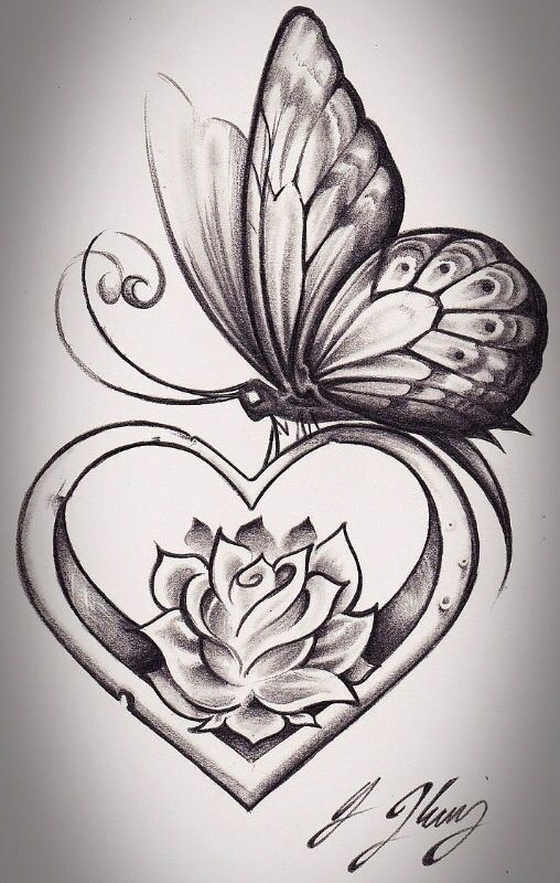 Pin By Geri Fredericks On Tattoos Rose Butterfly Tattoo Butterfly Tattoo Designs Tattoos