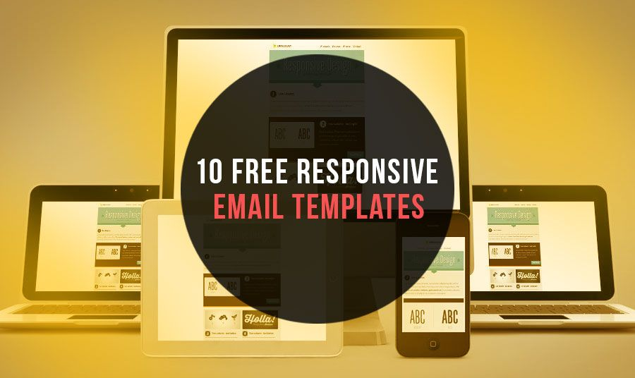 10 Free Responsive Email Newsletter Templates | Blogging